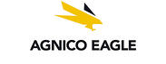 Logo of Agnico Eagle mining company who uses Coencorp's mining fleet mangement software