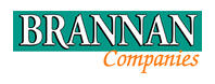 Logo for Brannan construction who uses Coencorp's enterprise fleet management software system