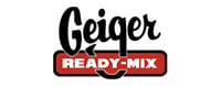 Logo for Geiger Ready Mix who utilize enterprise fleet management software