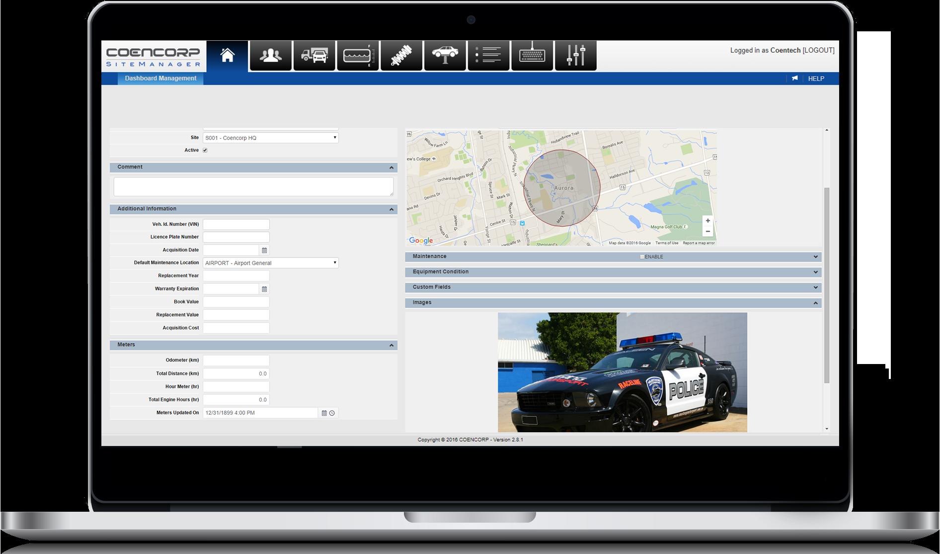 laptop-locate dashboard temp